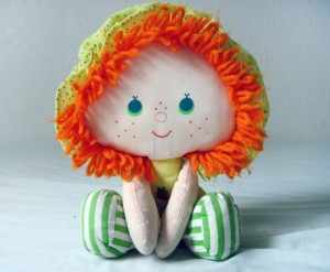 Apple Doll Sitting