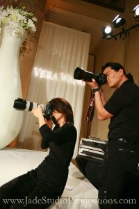 Husband And Wife Team Shooting Fashion Photography